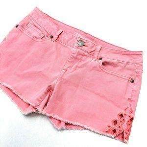 Aeropostale Midi Shorts size 4 Pink